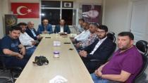 Başkan Toltar'dan Erbakan Vakfı'na Ziyaret