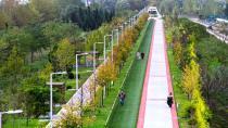 Büyükşehir'den kent genelinde 170 bin 914 metre yürüyüş yolu