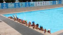 Havuzlarda, sezon açıldı