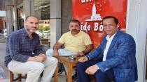 Başkan Toltar, Bayram sonrası Esnaf Ziyareti Yaptı