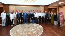 Ak Parti İl Başkanı Ve Yönetiminden Vali Aksoy'a Hayırlı Olsun Ziyareti