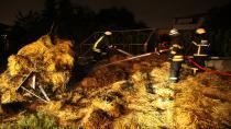 Kocaeli'de ot yangını korkuttu