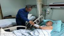 Başkan Ellibeş'ten Hasta Ziyaretleri