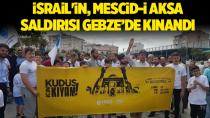 İsrail'in, Mescid-i Aksa Saldırısı Gebze'de kınandı
