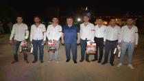 Körfezli Mehmetçikleri Başkan Baran uğurladı