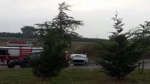 Sakarya'da otomobil takla attı: 1 yaralı