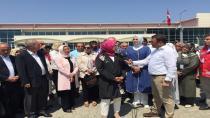 Aygün ve Katırcıoğlu,Silivri'de ki duruşmayı takip etti