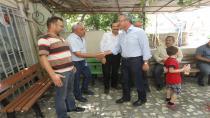 Başkan Köşker'den Arapçeşme'de esnaf turu