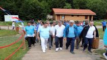 Bakan Osman Aşkın Bak, Diriliş Kampına hayran kaldı