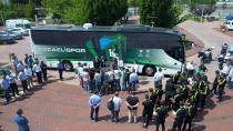 Kocaeli'nin markası Kocaelispor'a Büyükşehir'den yeni takım otobüsü