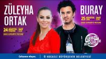 Gebze'de yaz konserlerine bekliyoruz