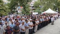 Arakan'da hayatını kaybedenler için cenaze namazı kılındı