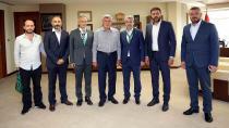 Kocaelispor'dan Başkan Karaosmanoğlu'na Ziyaret