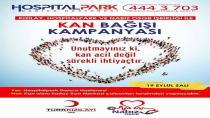 Hospıtalpark'tan Kan bağış kampanyası