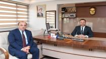 Vali Aksoy'dan  Darıca Kaymakamlığına İade-İ Ziyaret