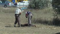 Fabrikaların arasındaki boş arazide ceset bulundu