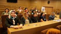 Büyükşehir'den kadın personeline sağlık eğitimi
