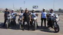 Yeni motorize ekiplerin eğitimi tamamlandı
