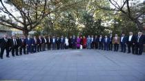 Gür ve ekibi Ankara'da