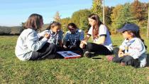İzcilerden iletişim temalı kamp