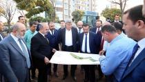 Diyarbakır'da ki projeleri yerinde denetledi