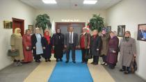 Ak Parti Yeni İlçe Kadın Kolları Teşkilatından Başkan Toltar'a Ziyaret