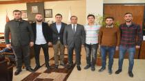 Sarıca Ve Yönetiminden, Başkan Toltar'a Ziyaret