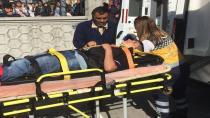 Okuldan kaçmak isteyen öğrenci ikinci kattan düştü