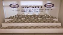 Kocaeli üzerinden İstanbul'a gidecek olan 157 kilo eroin ele geçirildi