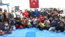 Gür Genç Sporcuları Ziyaret Etti