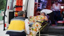 Rehabilitasyon merkezinde oksijen tüpü patladı: 2 yaralı