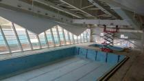 Çayırova Yarı Olimpik Yüzme Havuzu'nda sona doğru