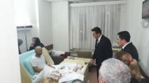 CHP'li Törk hasta vatandaşları yalnız bırakmadı!