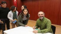 Çayırova'da Öğrenci Yazar Buluşmasına Senarist Yazar Tarık Tufan Konuk Oldu