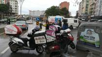 Panelvan minibüs ile motosiklet çarpıştı: 1 yaralı
