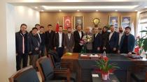 Yeşilay'dan Ak Parti Gebze İlçe Başkanına Ziyaret