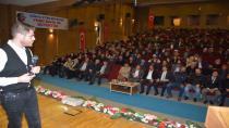 """Tuğrul Selmanoğlu'nun """"Ümmetin Sorumluluğu Kudüs"""" konferansına büyük ilgi"""