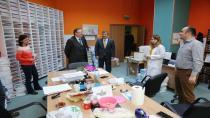 Başkan Karabacak İlhan Bayram'ı Ağırladı