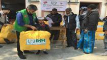 Gebze İHH Nepal'i Unutmadı
