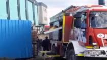 Dilovası'nda döküm fabrikası yandı
