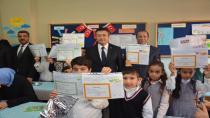 Başkan Toltar, Karne Dağıttı