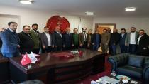 AK Parti Gebze İlçe Başkanı TÜMSİAD'ı ziyaret etti