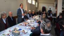 Başkan Toltar Sarışeyhlilere konuk oldu