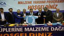 Başkan Karabacaktan Amatör Kulüplere Destek