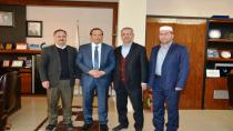 Hira Nur Camii Derneğinden Başkan Toltar'a ziyaret