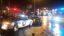 Kocaeli'de 2 otomobil çarpıştı: 1'i çocuk 6 yaralı