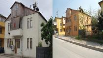 Cephe iyileştirmeleriyle binalar güzelleşti