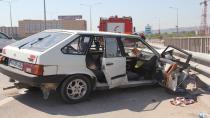 Kocaeli'de iki otomobil çarpıştı: 3 yaralı