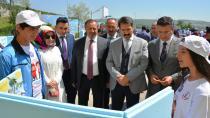 Yaman ve Toltar bilim fuarını gezdi