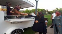 AK Kadınlar karavanda nöbet tutuyor
